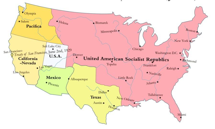 People's Socialist Atlas: A History of the United American Socialist Republics
